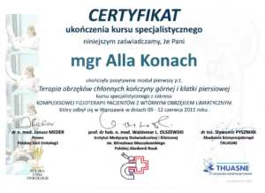 Certyfikat ALLA18